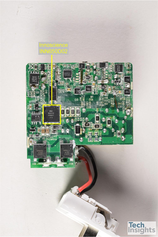 一名新的球员在GaN充电器市场出现  Innoscience Inn40D40发现在Rh ...